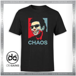 Tee Shirt Ian Malcolm Chaos Poster