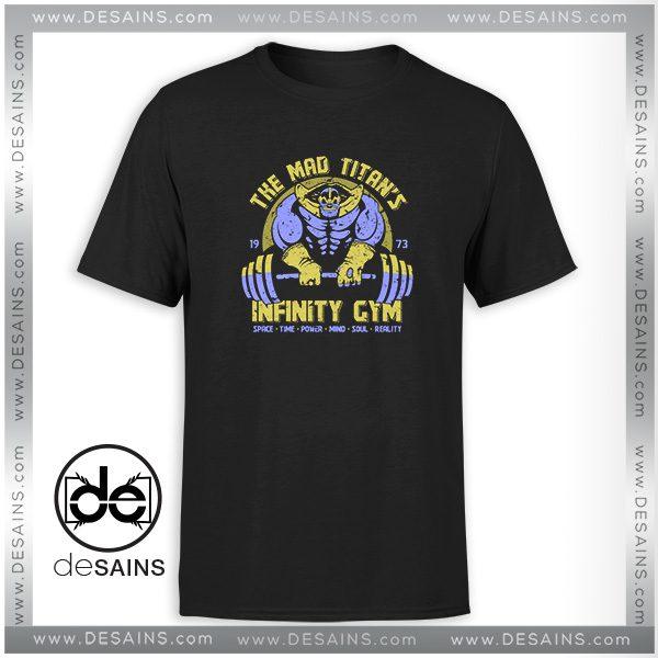 Tee Shirt Infinity Gym Thanos Avengers Infinity War Tee Shirt Size S-3XL