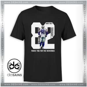 Tee Shirt Jason Witten thank you for the memories Tee Shirt Size S-3XL