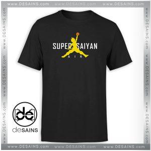 Tee Shirt Nike Air Super Saiyan Paordy Dragon Ball Tshirt Size S-3XL