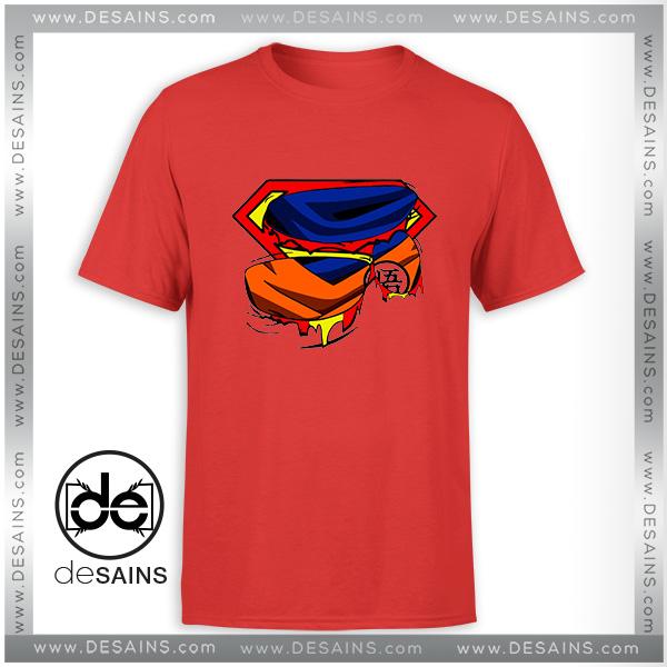 Tee Shirt Super Goku Superman Logo Tshirt Size S 3xl