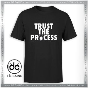 Tee Shirt Trust The Process Philadelphia 76ers Tee Shirt Size S-3XL