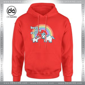 Cheap Graphic Hoodie Best Unicorn Dad Ever Size S-3XL