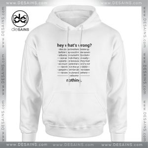 Cheap Graphic Hoodie Jonas Brothers Read 542 PM Hey Whats Wrong