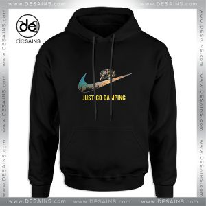 Cheap Graphic Hoodie Just go Camping Just Do It Funny Size S-3XL