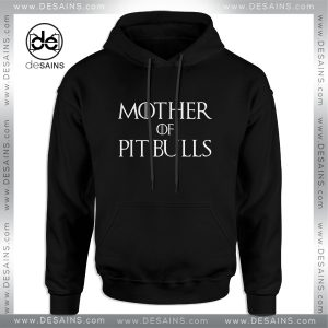 Cheap Graphic Hoodie Mother of Pit Bulls Dog Size S-3XL