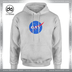 Cheap Graphic Hoodie Nasa Gay Logo Funny Size S-3XL