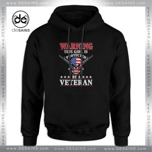 Cheap Graphic Hoodie This Girl Is Protected By A Veteran