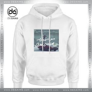 Cheap Graphic Hoodie This is America Gambino Poster