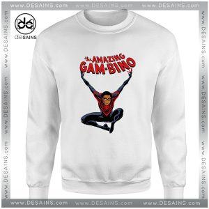 Cheap Graphic Sweatshirt Amazing Spider Man Childish Gambino