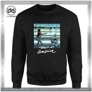 Cheap Graphic Sweatshirt Childish Gambino Donald Glover This is America