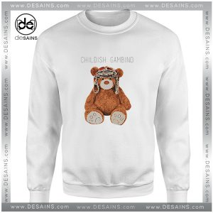 Cheap Graphic Sweatshirt Gambino Bear Childish Gambino