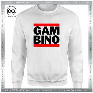 Cheap Graphic Sweatshirt Gambino Design Childish Gambino Logo
