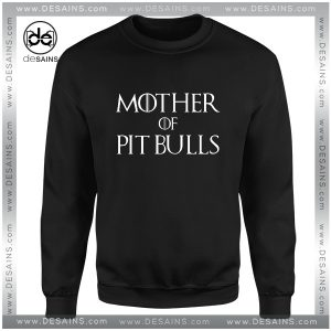 Cheap Graphic Sweatshirt Mother of Pit Bulls Dog Size S-3XL