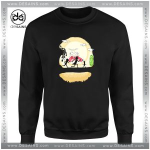 Cheap Graphic Sweatshirt Rick Morty Mr Poopy Hakuna Matata Size S-3XL