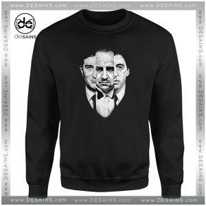 Cheap Graphic Sweatshirt The Godfather Movie Retro Poster