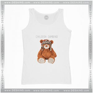 Cheap Graphic Tank Top Gambino Bear Childish Gambino