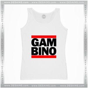 Cheap Graphic Tank Top Gambino Design Childish Gambino Logo