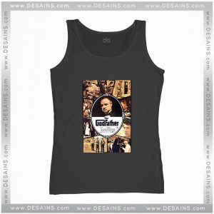 Cheap Graphic Tank Top The Godfather Movie Poster Vintage Size S-3XL