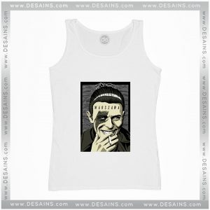Cheap Graphic Tank Top Warszawa David Bowie Smoke Poster Funny