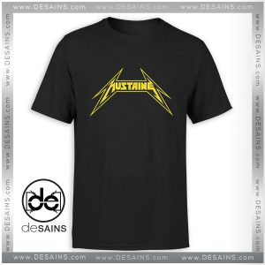 Cheap Graphic Tee Shirt The Mustaine Metallica T-Shirt Size S-3XL