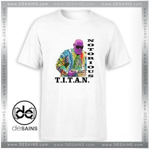 Cheap Graphic Tee Shirt Titan Notorious Thanos Avengers Size S-3XL