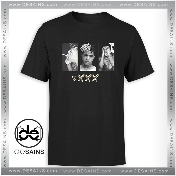 100cb39f Cheap Graphic Tee Shirt XXXtentacion Jahseh Dwayne Ricardo Onfroy