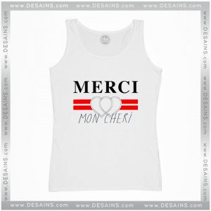 Cheap Tank Top Merci Mon Cheri Custom Tank Tops Size S-3XL