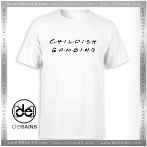 Cheap Tee Shirt Childish Gambino Friends Logo Size Tee Shirt S-3XL