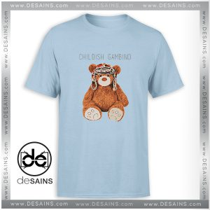 Cheap Tee Shirt Gambino Bear Childish Gambino Size S-3XL