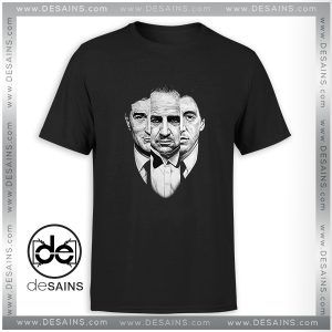 Cheap Tee Shirt The Godfather Movie Retro Poster Tee Shirt Size S-3XL