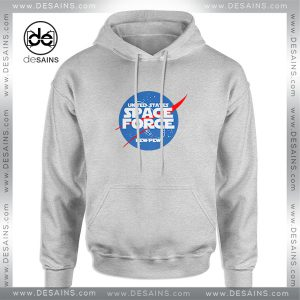 Cheap Graphic Hoodie United States Space Force Nasa Logo Size S-3XL