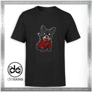 Cheap Graphic Tee Shirt Corgi Puppies CorgiPool Deadpool Size S-3XL