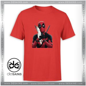 Cheap Graphic Tee Shirt Deadpool you in pool Dead Unicorn Size S-3XL