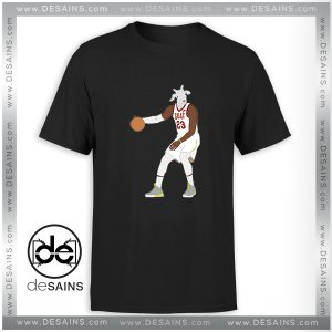 Cheap Graphic Tee Shirt LeBron James The GOAT NBA Tshirt Size S-3XL