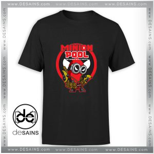 Cheap Graphic Tee Shirt Minion Pool Deadpool Funny T-shirt Size S-3XL