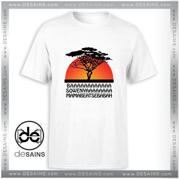 Cheap Graphic Tee Shirt The Lion King Disney Tshirt Size S 3xl