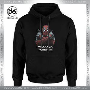 Cheap Hoodie Deadpool Wakanda Forever Black Panther Hoodies Adult Unisex