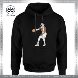 Cheap Hoodie LeBron James The GOAT NBA Adult Unisex Size S-3XL