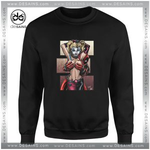 Cheap Sweatshirt I Love DP Deadpool Girls Crewneck Size S-3XL