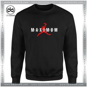 Cheap Sweatshirt Maximum Effort Deadpool Air Max Crewneck Size S-3XL