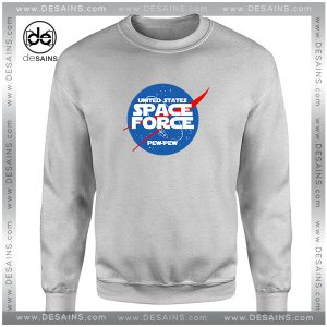 Cheap Sweatshirt United States Space Force Nasa Logo Size S-3XL