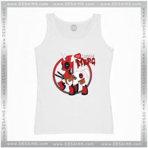 Cheap Tank Top Unipool Deadpool Unicorn Tank Tops Adult Size S-3XL