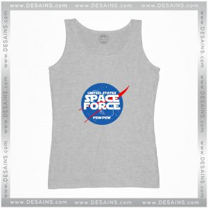 Cheap Tank Top United States Space Force Nasa Logo Size S-3XL