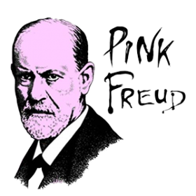 Pink Freud Cheap Graphic Tee Shirts