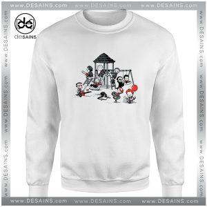 Best Cheap Sweatshirt Horror Park IT Movie Crewneck Size S-3XL