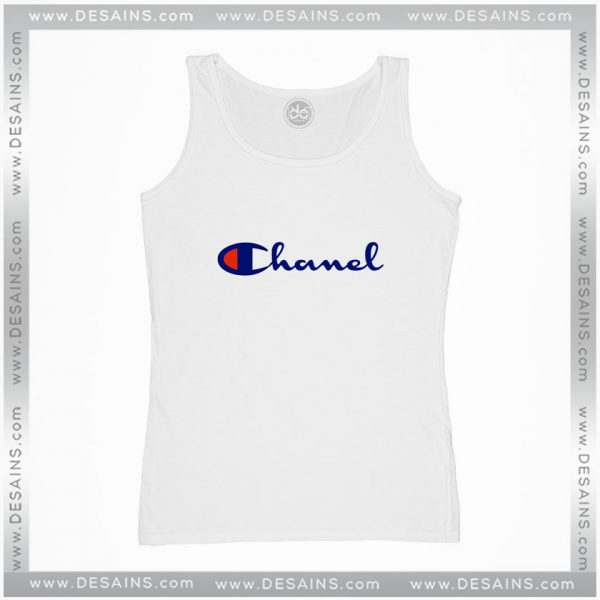 Best Cheap Tank Top Champion Sportswear Chanel Parody