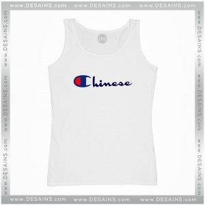 Best Cheap Tank Top Chinese Champion Parody Funny Size S-3XL