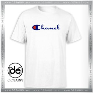 Best Cheap Tee Shirt Champion Sportswear Parody Chanel Brand Fashion