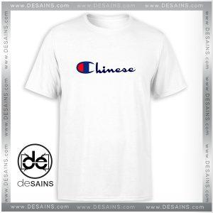 Best Cheap Tee Shirt Chinese Champion Sportswear Logo Size S-3XL